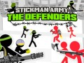 Jeux Stickman Army: The Defenders